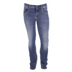 JEANS UOMO ZEBO GILLES BLUE P03959 TAKE TWO