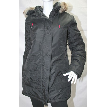 GREENLAND JACKET WOMEN'S WINTER BLKA 1597 BENCH