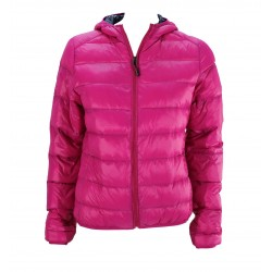 JACKET WOMAN REAL FEATHER 767058 E.A.R.C.