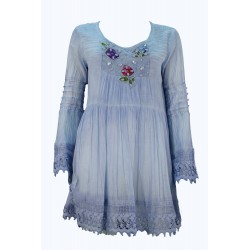 CAMICIA KURTA DONNA ART. 51814 POSITANO BY JEAN PAUL