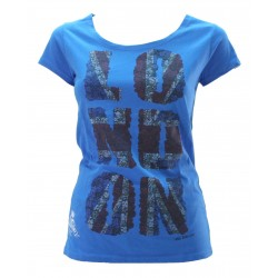 MAGLIA DONNA MEZZA MANICA LONDON FLOWER MR FREEDOM