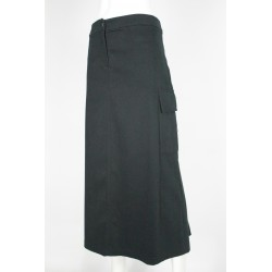SKIRT WOMEN'S WINTER LONG WITH SIDE POCKETS