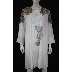 VESTITO DONNA STILE CAMICIA ART.51678 POSITANO BY JEAN PAUL