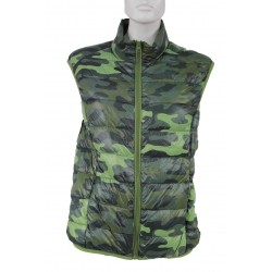 VEST WOMAN TRAPUNTINO MIMETICO TRUE FEATHER DOCA DEEROSE