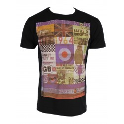 T-SHIRT THE MODS MR FREEDOM