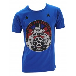 T-SHIRT UOMO DOUBLE BULDOG MR FREEDOM