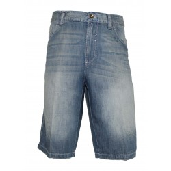 SHORTS JEANS BLUE MAN SIDE