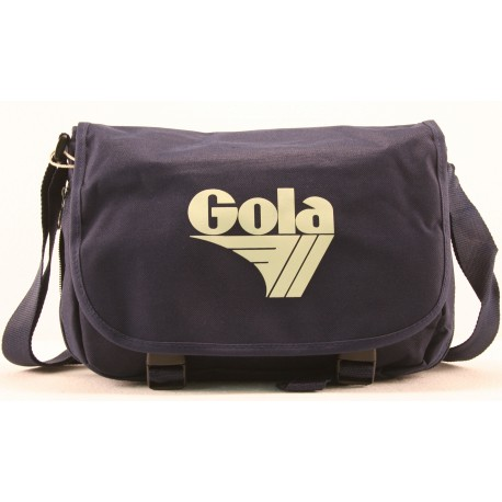 BORSA GOLA ULTRA MINI HARRIS DEEP BLUE CREAM
