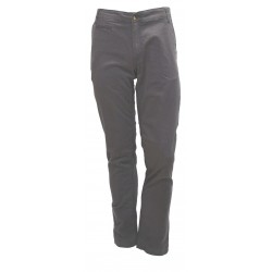WARM MAN TROUSERS MONKEE GENES HARRY-BRUSHED SATEEN GRAPHITE