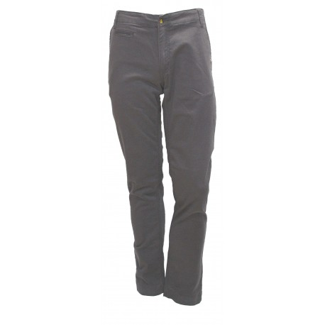 PANTALONI UOMO MONKEE GENES INVERNALI HARRY-BRUSHED SATEEN GRAPHITE TG. 28 32