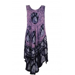 VESTITO DONNA ART 13166 PLUS POSITANO BY JEAN PAUL