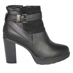 ANKLE BOOTS SHOES WITH TOY- BUCKLE COD. 666-7