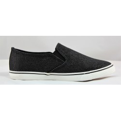 SLIP-ON BLACK S013 DREAM SHOES