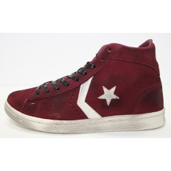 ALL STAR CONVERSE PRO LEATHER MID SUEDE LTD 1C465