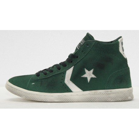 converse pro leather suede mid