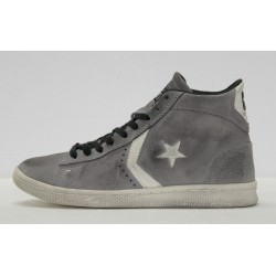ALL STAR CONVERSE PRO LEATHER MID SUEDE LTD 1C468