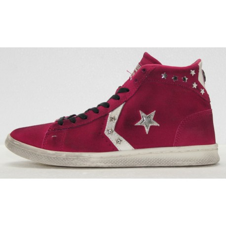pretty nice f91ea d3e23 ALL STAR CONVERSE PRO LEATHER MID SUEDE LTD 1C631 - Dedalo Moda