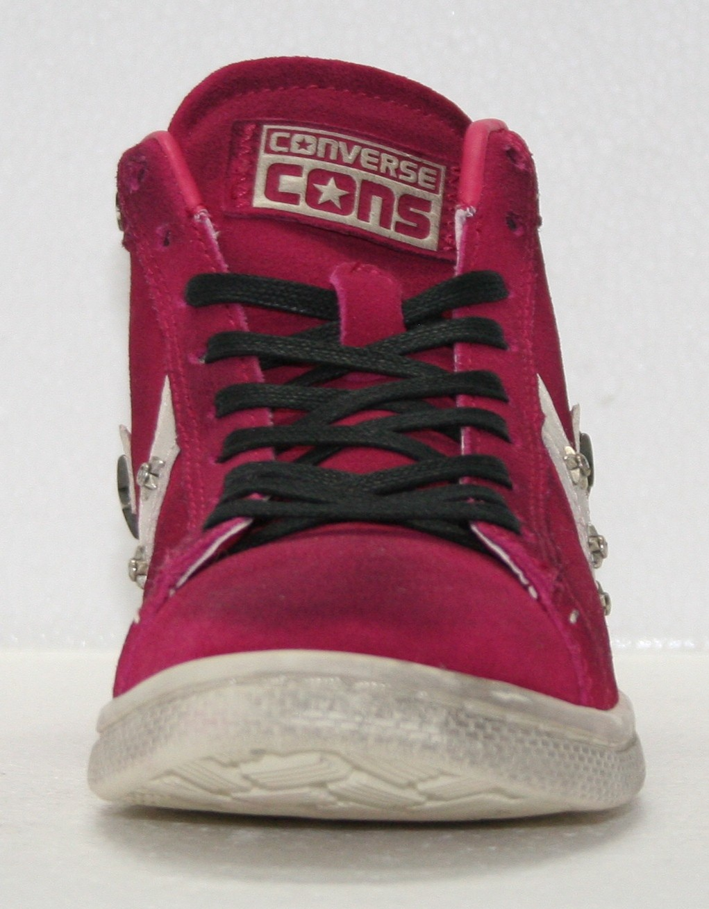 converse pro leather rosse