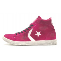 ALL STAR CONVERSE PRO LEATHER MID SUEDE LTD 1C659