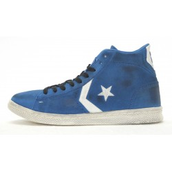 ALL STAR CONVERSE PRO LEATHER MID SUEDE LTD 1C660