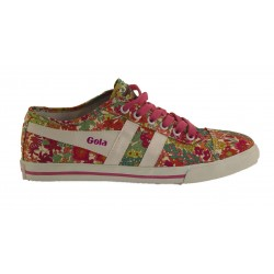 Shoe Gola Jasmine Liberty MA CLA 415 Hot Pink/White