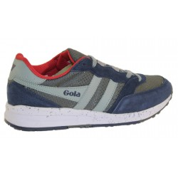 Scarpa uomo Gola Samurai CMA703 Grey/Navy/Light Grey
