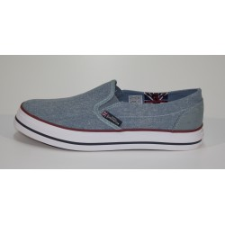 SCARPA UOMO SUBMARINE SBM053/M RAMSEY SLIP ON WASHED CANVAS